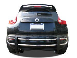 Black Horse Fits 2011 2017 Nissan Juke Stainless Rear Bumper Guard Protector