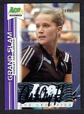 Ashley Harkleroad #BA-AH1 signed autograph 2013 Ace Authentic Grand Slam 24/25