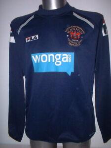 Blackpool 125yrs Shirt Training Adult M Fila Soccer Shirt Jersey Training Top