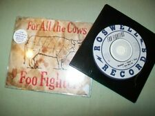 Foo Fighters       **PROMO CD LOT**        For All the Cows  --  Winnebago