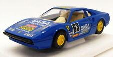 Modellini statici di auto da corsa sportive e turistiche blu ferrari Scala 1:24