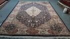 oriental persian carpet rug 100% handknotted 100% wool 351x245 cm