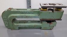 "12 AH 3 1/2 Unipunch C Frame Punch Press Tooling 12"" Throat USED"