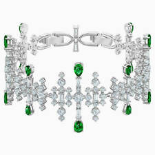 Perfection Bracelet Green Rhodium Plating 2019 Swarovski Crystal Jewelry 5507695