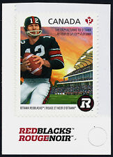 Canada 2755 MNH CFL Football, Ottawa Redblacks