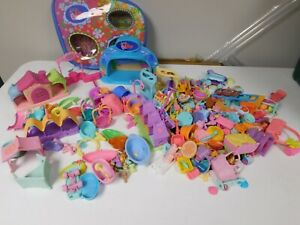 Hundreds of Pieces Littlest Pet Shop Parts and Accessories