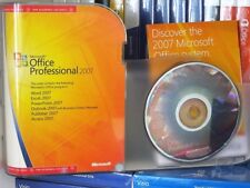 MICROSOFT OFFICE 2007 PROFESSIONAL PRO ACADEMIC USED X12-50041-01 100% GENUINE