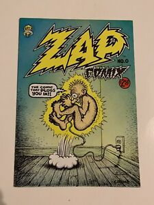 ZAP COMIX NO. 0 8.0 $2.50 COVER PRICE APEX NOVELTY
