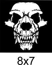 "Coyote SKULL Sticker predator hunter varmint Hunting 8x7"" diecut Vinyl Decal fun"
