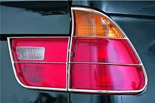 BMW X5 RIPARO FARI POSTERIORE INOX BRILL