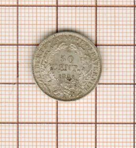 50 centimes argent Cérès 1881 belle qualité