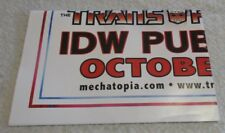 """TRANSFORMERS G1 POSTER 2005 IDW OPTIMUS PRIME """"I WANT YOU"""" UNCLE SAM 18"""" x 24"""""""
