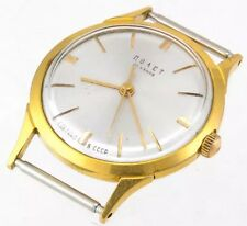 POLJOT Gold AU20 USSR Russian Vtg Retro Fashion watch 23 Jewels 1MChZ 23J 2209