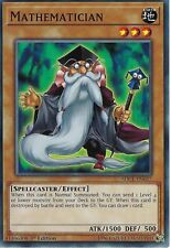 YU-GI-OH CARD: MATHEMATICIAN - SDCL-EN017 - 1ST EDITION