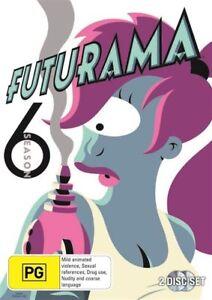 Futurama : Season 6 : 2 Disc : NEW DVD