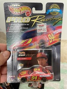 Vtg 1998 Hot Wheels Pro Racing #94 Bill Elliott Collectors 1:64 Car 1st Edition