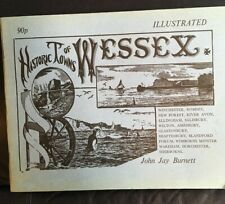 Historic towns of WESSEX 1975 a first edition by John Jay Burnett