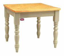 Solid Wood Country Up to 4 Seats Kitchen & Dining Tables