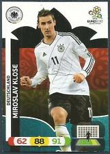 PANINI EURO 2012-ADRENALYN XL-GERMANY-MIROSLAV KLOSE