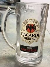 Bacardi Oakheart Smooth Spiced Rum Glass* ONE ( 1 ) Glass