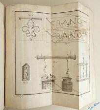 SIGAUD DE LA FOND Précis Expérimental Des Phénomènes Électriques 1781 EO 9 pl.