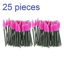 25 x disposable eye lash pennelli Make up Mascara, applicator Pink