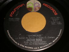 Jackie Ross: Showcase / Angel Of The Morning 45 - Soul