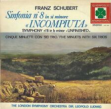 SCHUBERT - SINFONIA n°8 INCOMPIUTA - CINQUE MINUETTI CON SEI TRIO # LONDON SYMPH