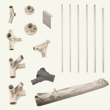 More details for gazebo spare replacement parts mix and match poles fixings feet side wall canopy