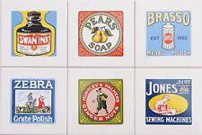 Fliesen 15x15 als Küchenfliesen Englische Art mit Werbeartikeln