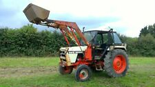 More details for david brown / case 1390 loader tractor with bucket