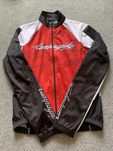 Campagnolo Cycling Jersey Factory Team Red/Black Size L Large