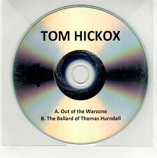 (GG312) Tom Hickox, Out Of The Warzone - DJ CD