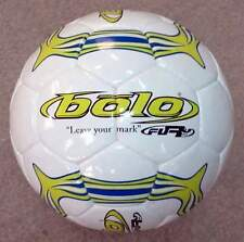 Bulk Wholesale Lot New Fury Soccer Ball Hand Stiched Size 4 Pur/Lime (5 Balls)