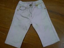 Roberto Cavalli baby girl pink and gold trousers size 3 months