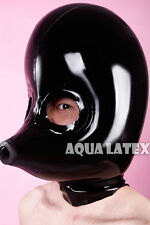 Inflatable Gummi Mousey Full Face Hood, Latex Rubber Mask(Free Shipping)
