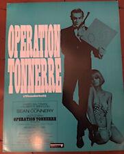 "Dossier de presse James Bond ""OPERATION TONNERRE"" - A4 R/V"