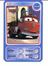 CARTE COLLECTOR DISNEY PIXAR AUCHAN 2010 NUMERO 124 RED collection CARS