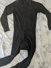 XXL Black Thermal Cycling Skinsuit