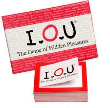 I.O.U The Game of Hidden Pleasures hot Foreplay couples spice up fun Game & Play