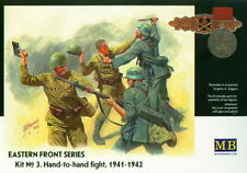 Master Box MB 1/35 3524 Hand-to-hand Fight WWII German & Soviet Infantry 1941-42