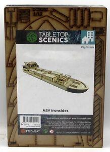 TTCombat DCS052 MSV Ironsides (City Streets) Cargo Container Ship Terrain NIB