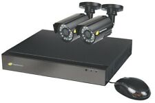 NightWatcher NW-4AHD CCTV Kit 4 Channel 1TB DVR with 2 x HD Bullet Cameras