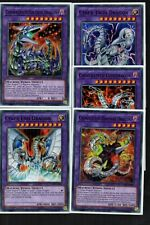5 Card Cyber Dragon Fusion Set - Twin, Cyber End, Fortress, Rampage, Overdragon