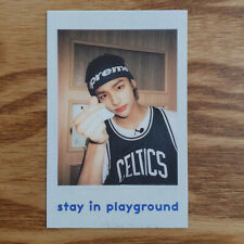 Hyunjin Official Polaroid Photocard Stray Kids 2nd Photobook Stay in Playground