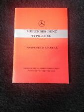 Mercedes Benz, Type 300 SL (Coupe), Instruction Manual in English, orig. factory