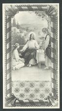 Estampa antigua de Santa Marta andachtsbild santino holy card santini