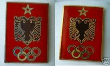 OLD  Albania OLYMPIC committee 2pc. BADGES PIN