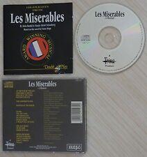 RARE CD ALBUM LES MISERABLES A MUSICAL BY ALAIN BOUBIL CLAUDE MICHEL SCHONBERG