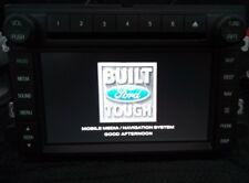 2009-2010 FORD F250-F350-F450-F550 Super Duty OEM Factory Navigation Radio Kit